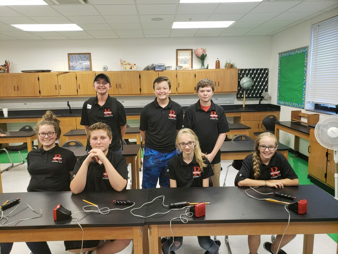 MS Academic Team beats Fleming Co.